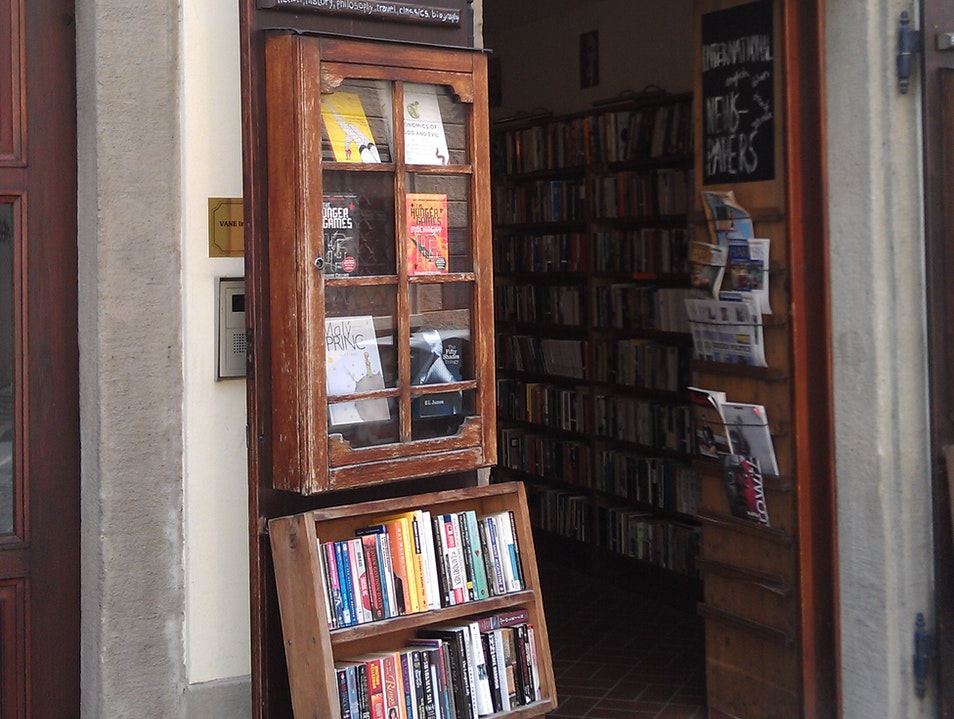 Travel Rule: Always Wander Into the Bookstore Prague  Czech Republic