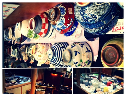2nd Floor Pottery Shop on Komachi-Dori Kamakura  Japan