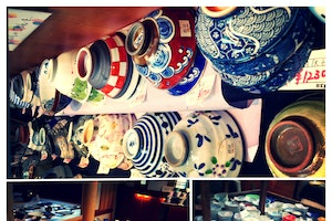 2nd Floor Pottery Shop on Komachi-Dori