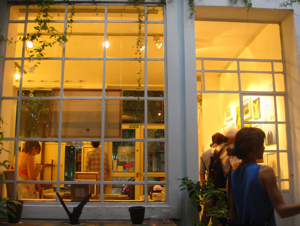 Savor the city's art scene Buenos Aires  Argentina