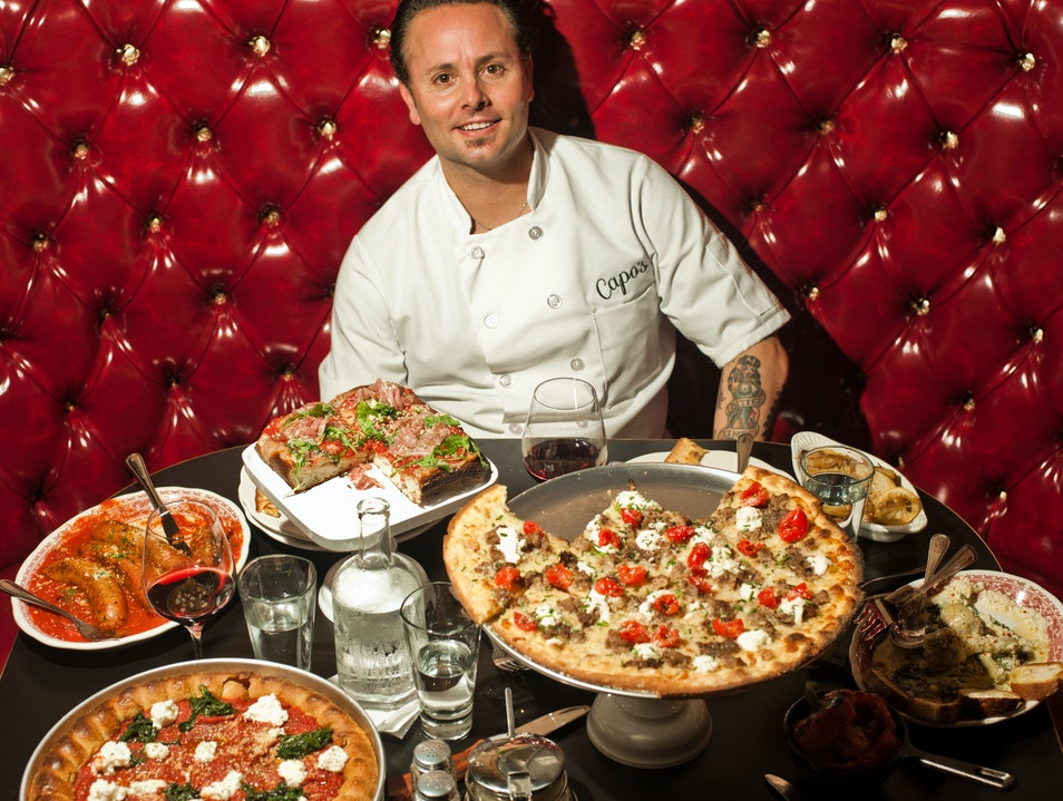 Eat Classic Chicago Deep Dish Pizza in North Beach