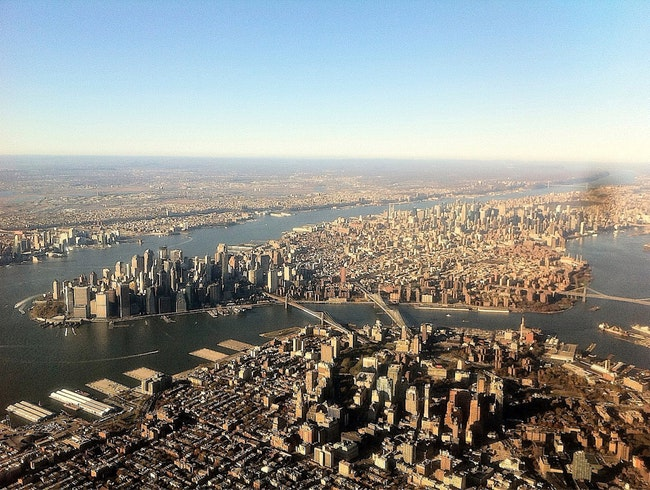 On Top Of The World - Manhattan Flyby