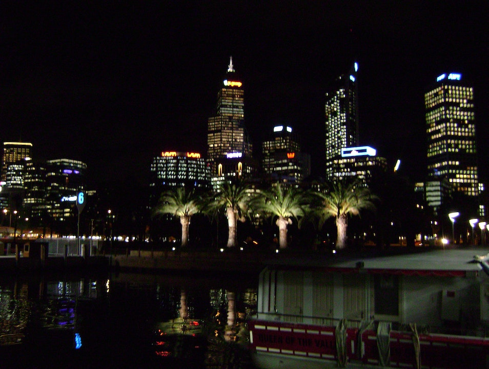 Nightscape, downtown Perth