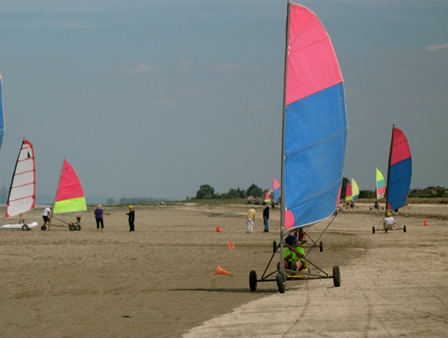 Sand Yachting in Brittany