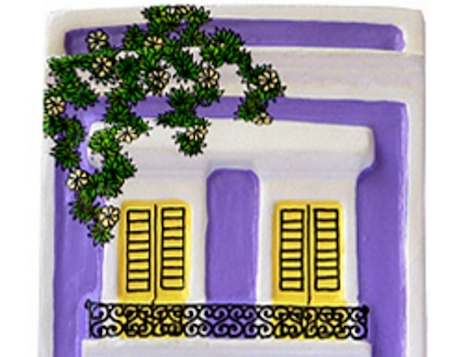 Hand-Painted Houses of Old San Juan