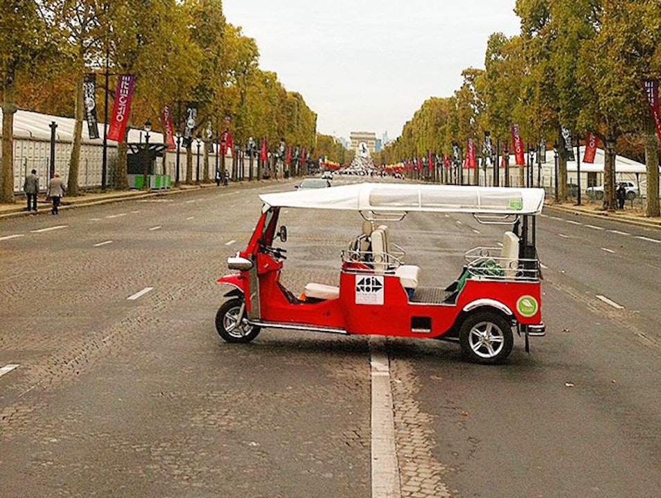 Paris by Tuktuk Paris  France