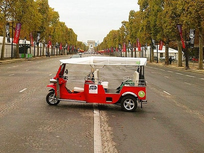 Paris by Tuk-Tuk Paris  France