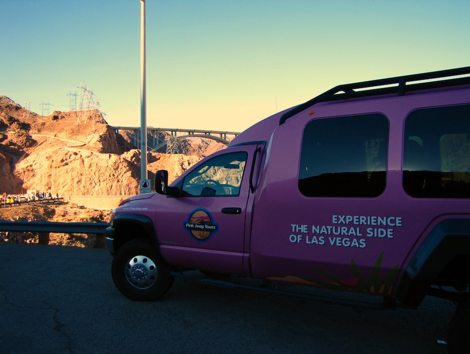 Touring with Pink Jeep
