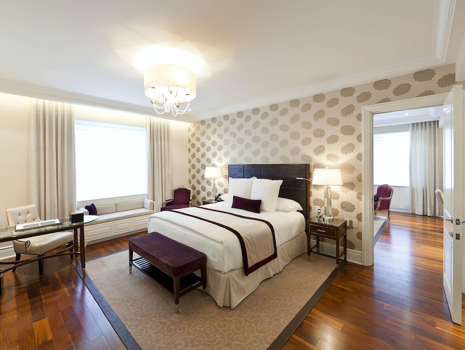 Contemporary and Classic Rooms Montreal  Canada
