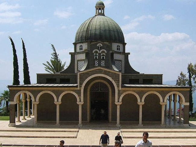 Mount of Beatitudes, Teachable Moment?