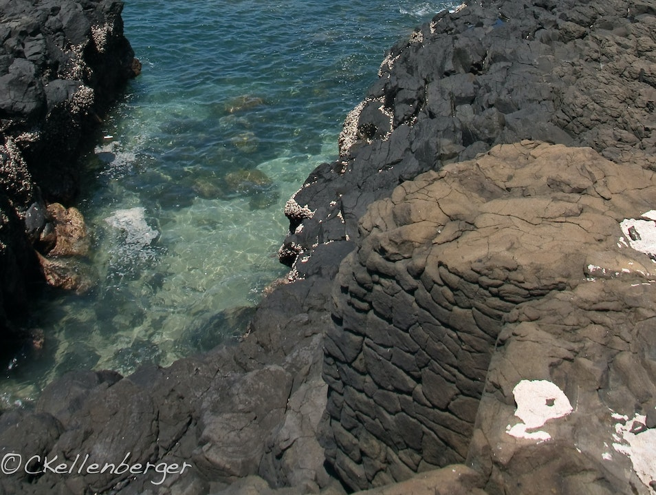 Listen to the Sea at Fenggui Caves, Penghu