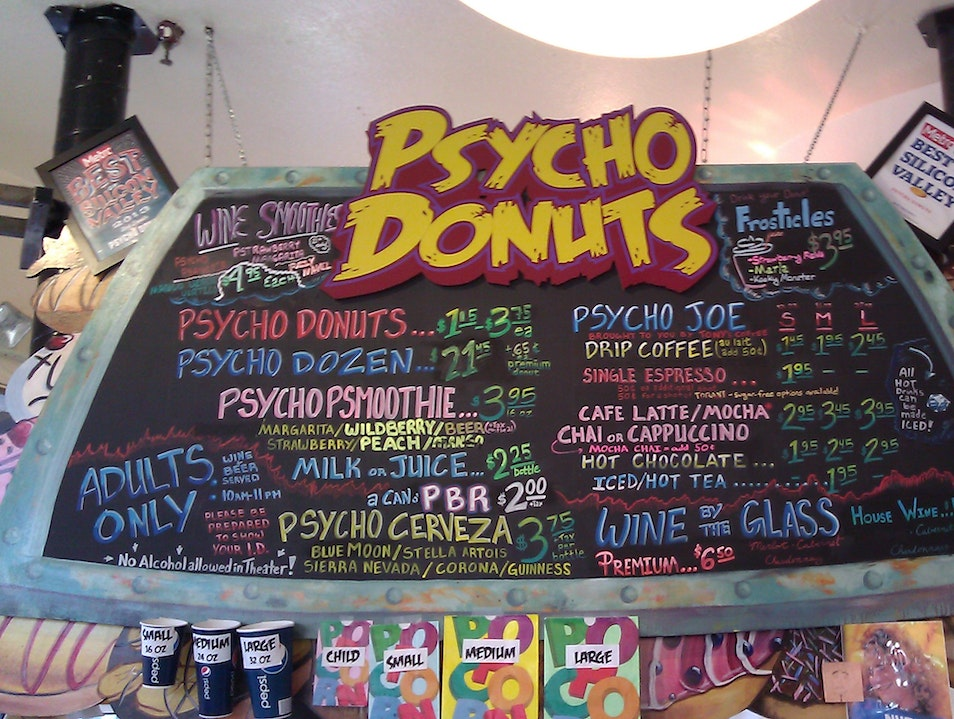 Donuts With a Crazy Twist San Jose California United States