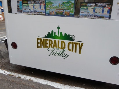 emerald city trolley Seattle Washington United States