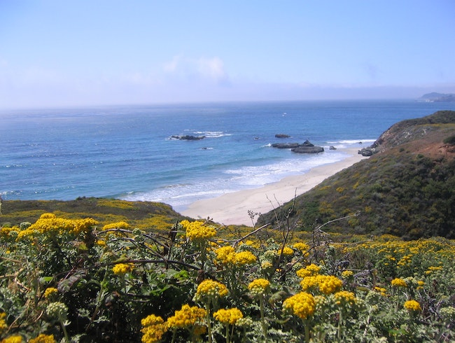 Hiking in the Big Sur area