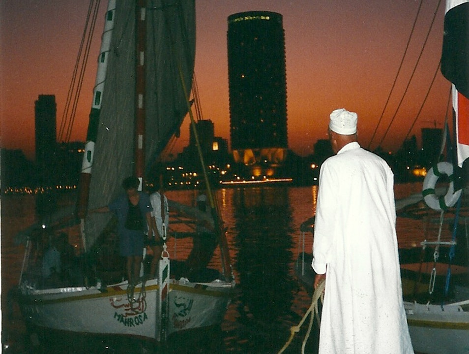 A Felucca Ride Through Time Cairo  Egypt