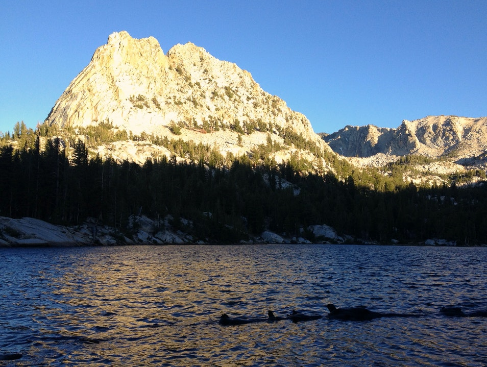 Hiking to Crystal Lake Mammoth Lakes California United States