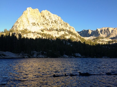 Crystal Lake Mammoth Lakes California United States