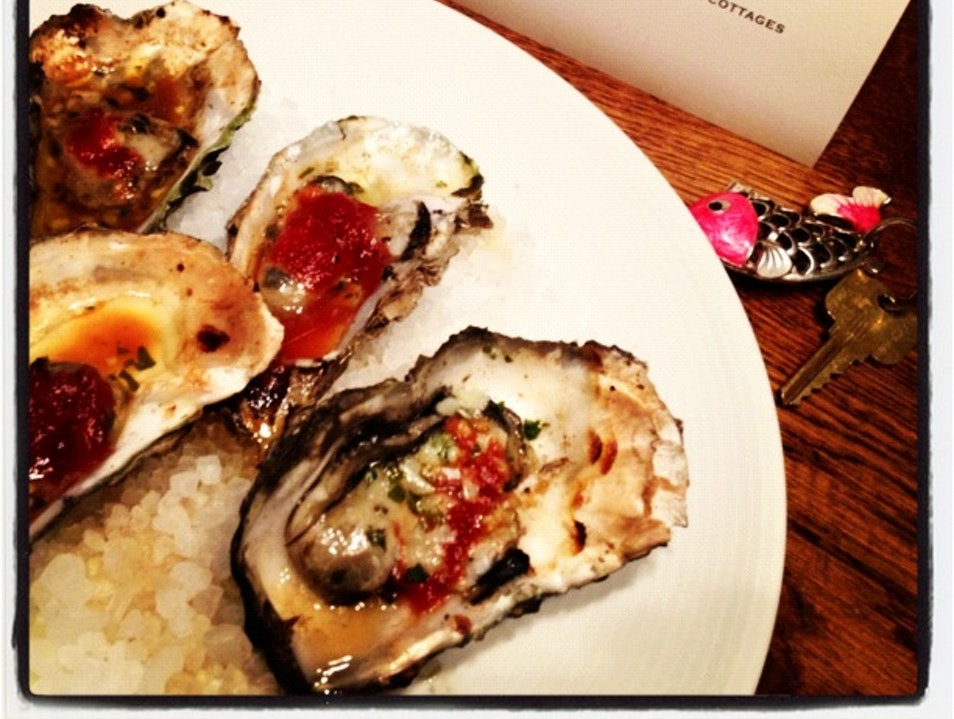 Oysters Upon Check-In