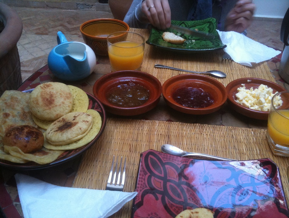 Breakfast in Marrakesh Marrakech  Morocco