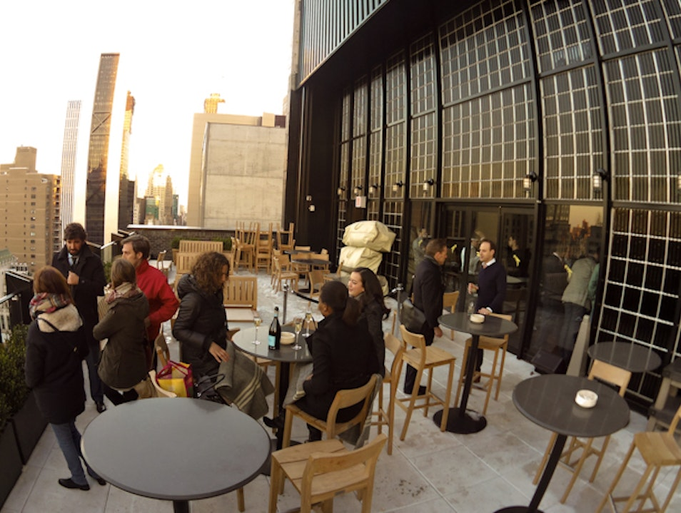 Rooftop Treat in Midtown Manhattan: The Roof at Viceroy New York New York New York United States