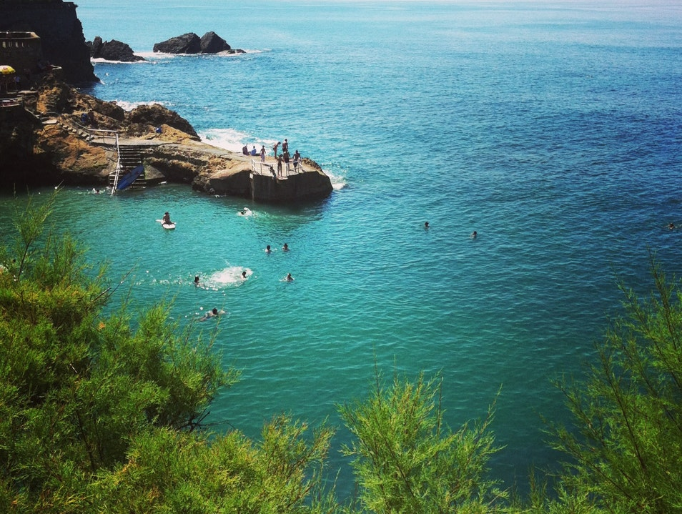 Swimming Back In Time at Plage du Port Vieux