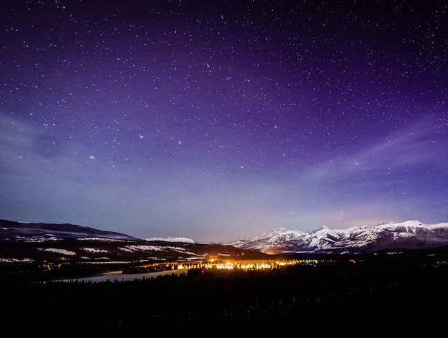 5 Million Stars at Jasper Park Lodge