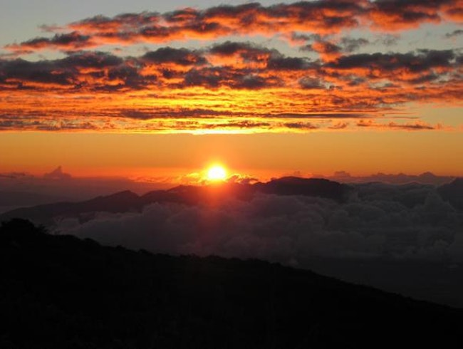 A Breathtaking Sunrise at Haleakalā