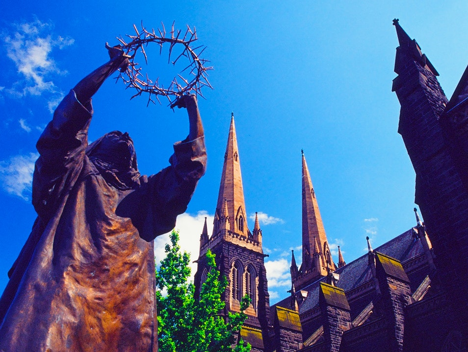 The Allure of St Patricks Cathredral in Melbourne, Australia East Melbourne  Australia