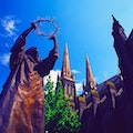 Saint Patricks Cathedral East Melbourne  Australia