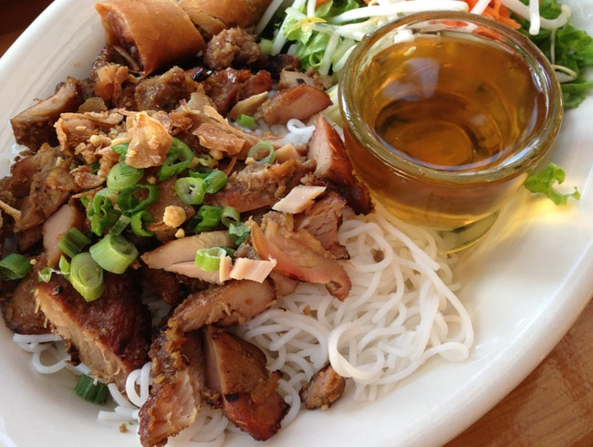 Mint Leaf:  Vietnamese food in an old chocolate factory