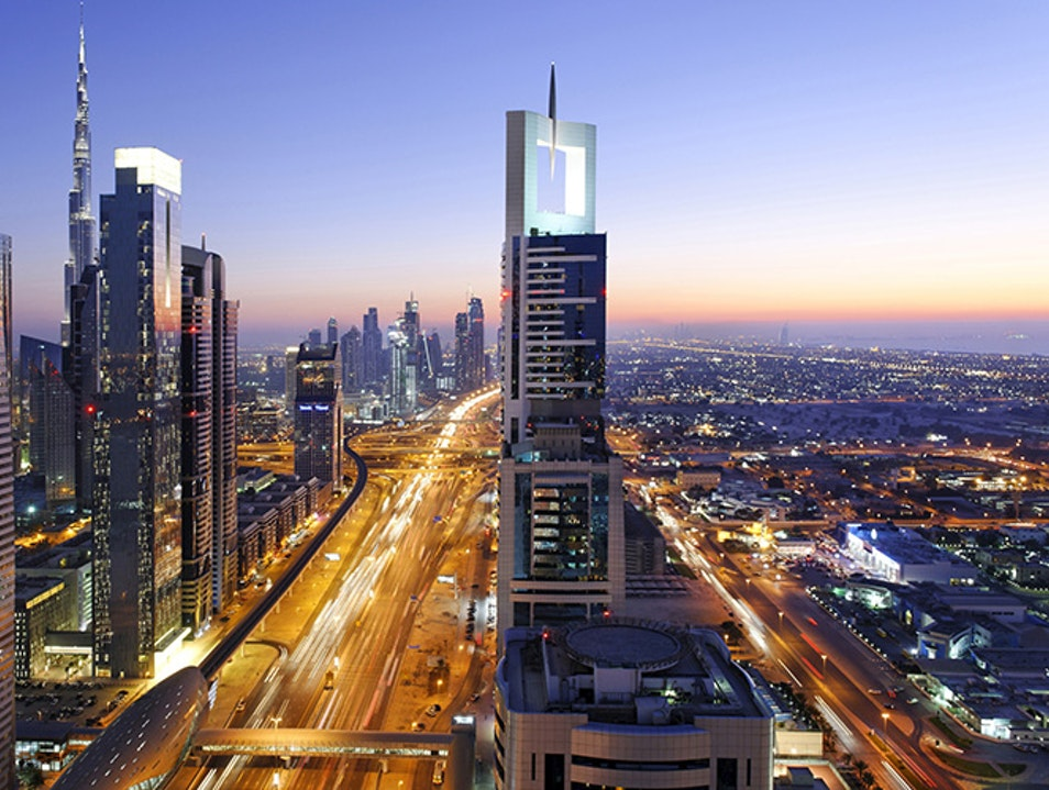 Sheikh Zayed Road Dubai  United Arab Emirates