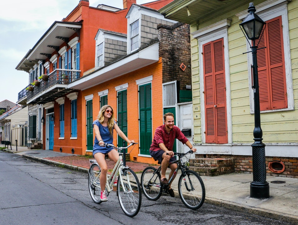 French Quarter by Bicycle