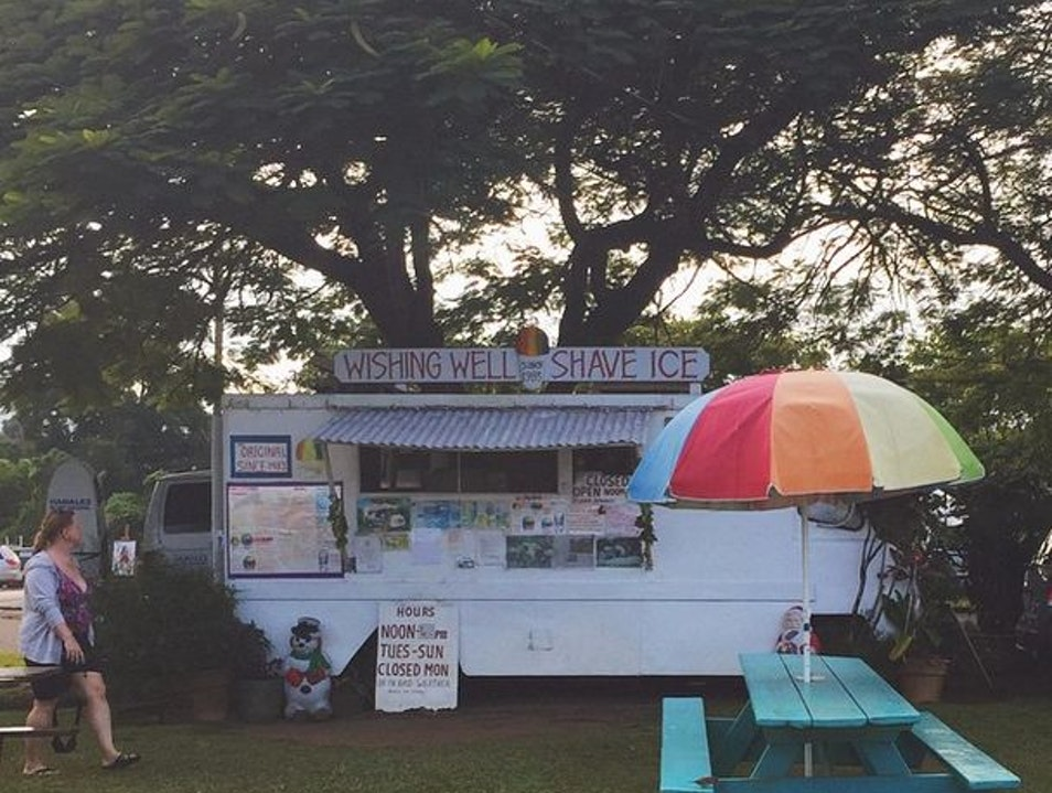 Wishing Well Shave Ice: You'll Never Eat a Snow Cone Again Hanalei Hawaii United States