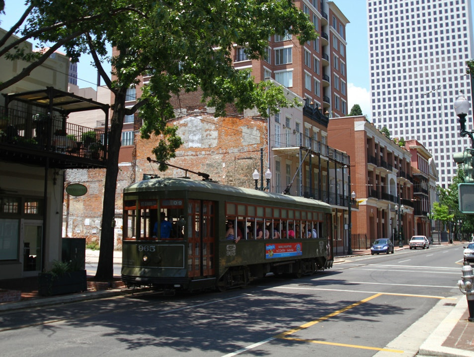 Tour the City by Streetcar  New Orleans Louisiana United States