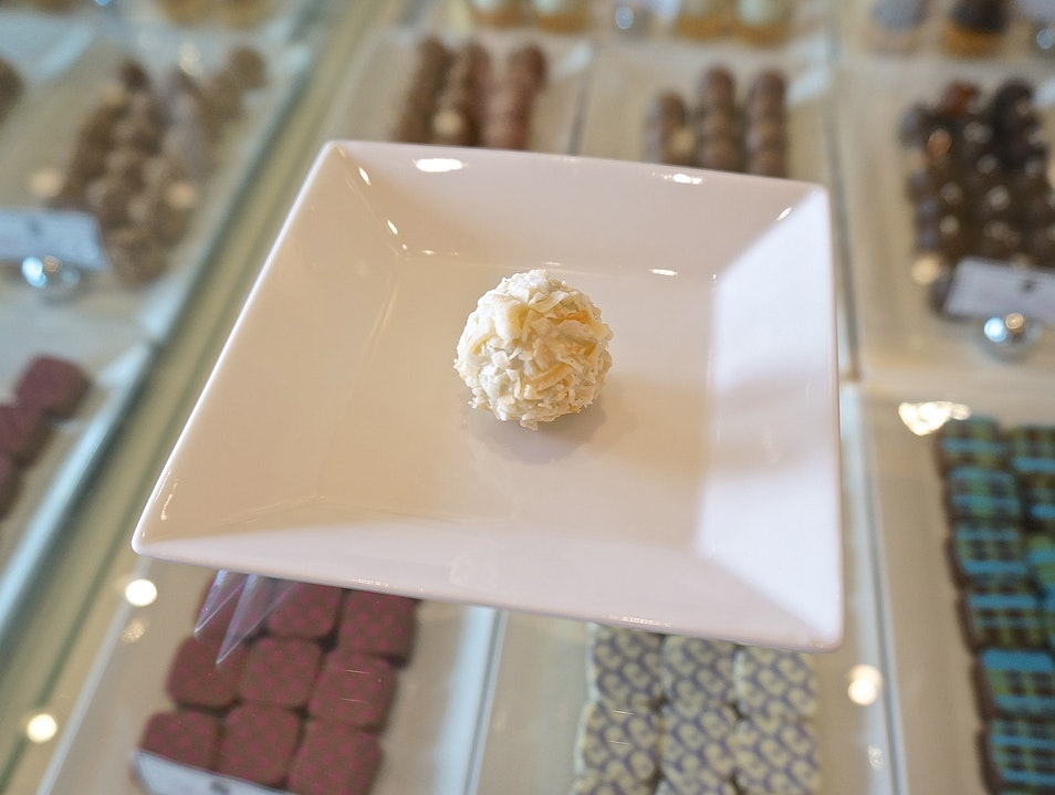 A sweet chocolate treat at the Biltmore Fashion Park