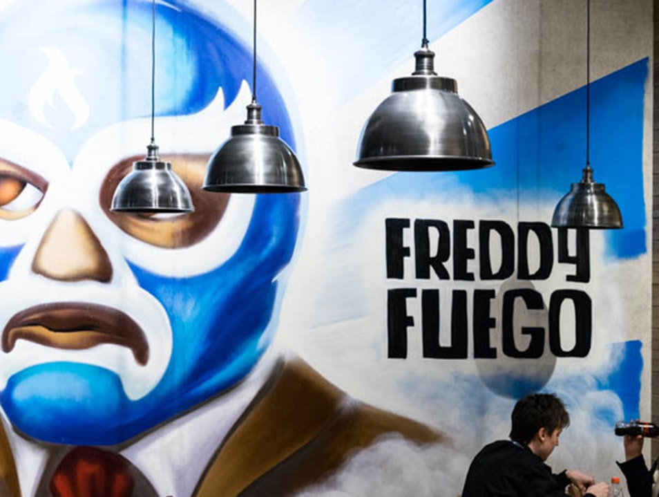 Freddy Fuego Burrito Bar Oslo  Norway