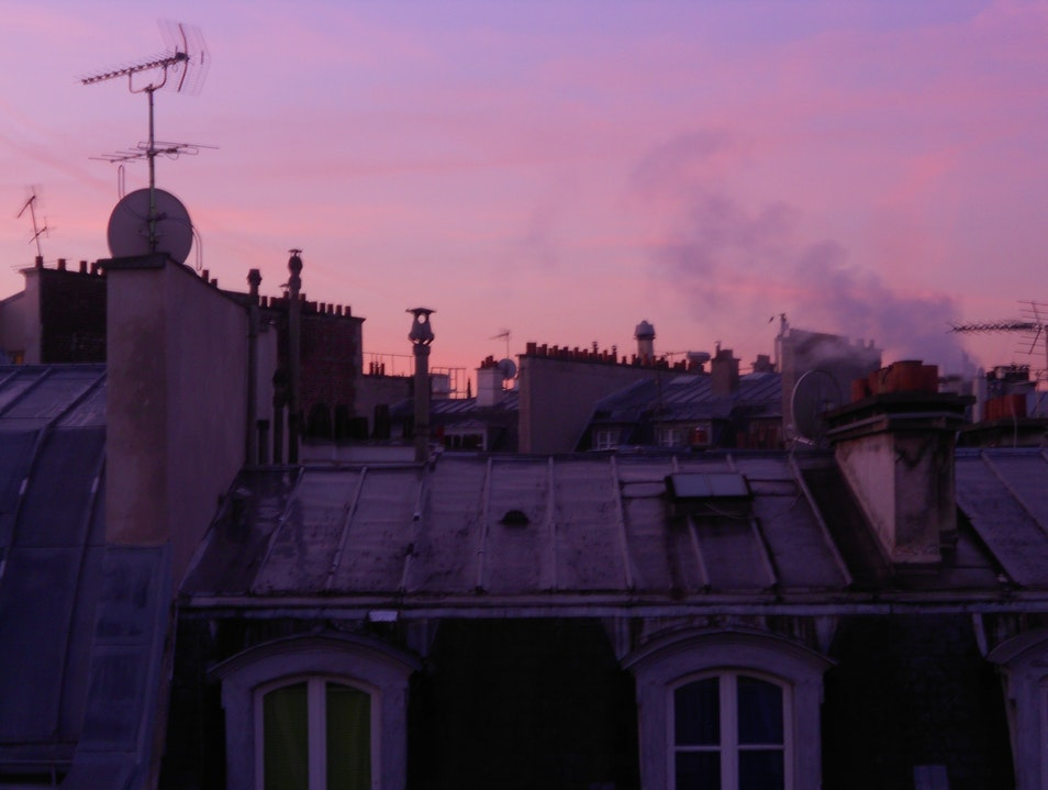 Parisian Rooftops Paris  France