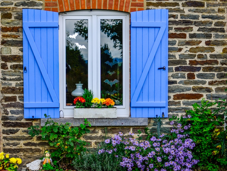 Beautiful houses in Ardennes