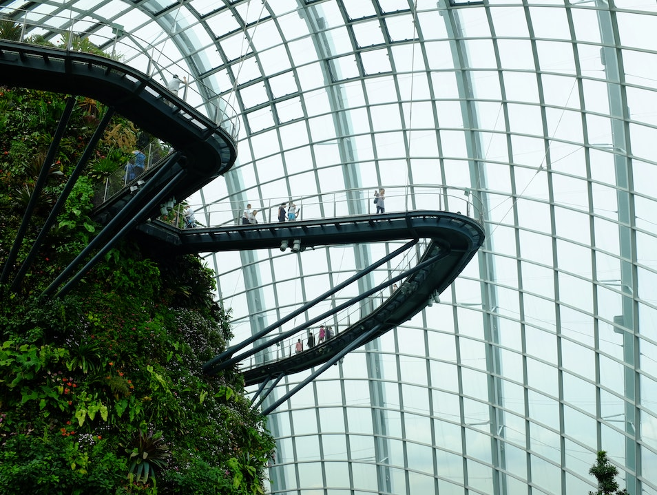 Gardens By The Bay - Cloud Forest Singapore  Singapore