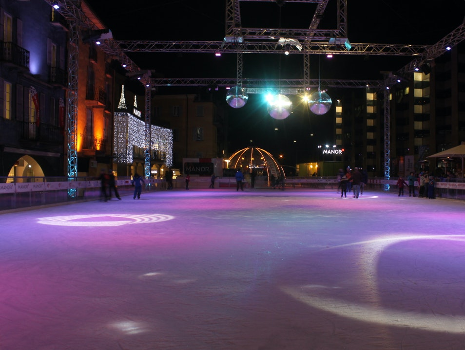 Disco Inferno on Ice Locarno  Switzerland