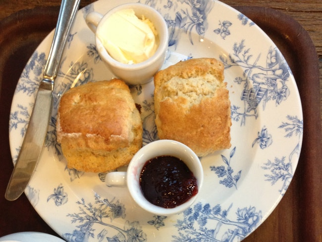Scones and Tea in Bath