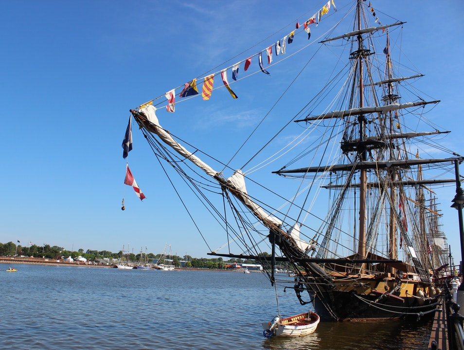 Explore Tall Ships and Sing With Pirates at the Tall Ships Celebration Bay City Michigan United States