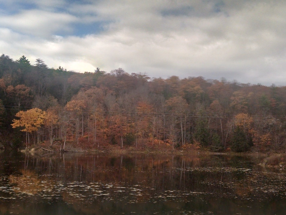 View from Amtrack Train-New York to Montreal
