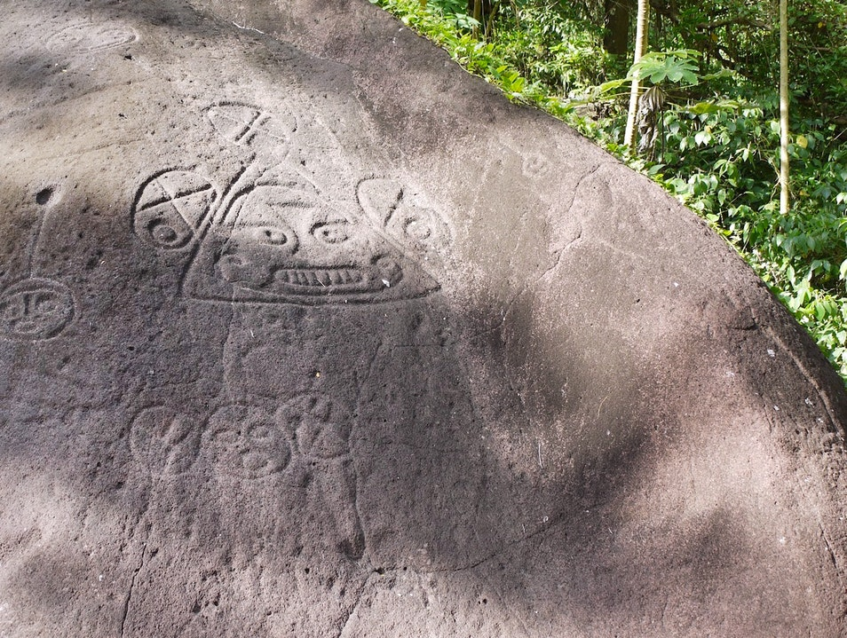 Layou Petroglyph Park Layou  Saint Vincent and the Grenadines