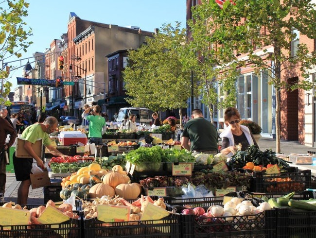 Historic Downtown Jersey Farmers' Market
