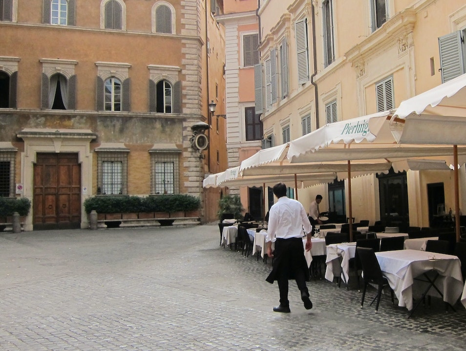 Best spots for Romantic Meal Rome  Italy