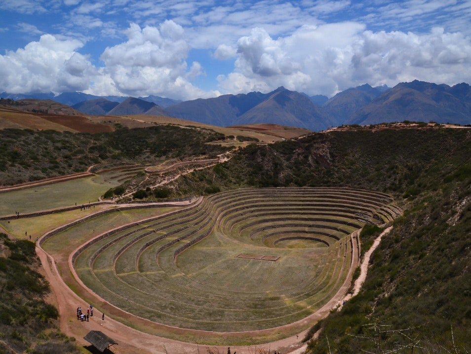 Sustainable Farming Ahead of its Time Maras  Peru