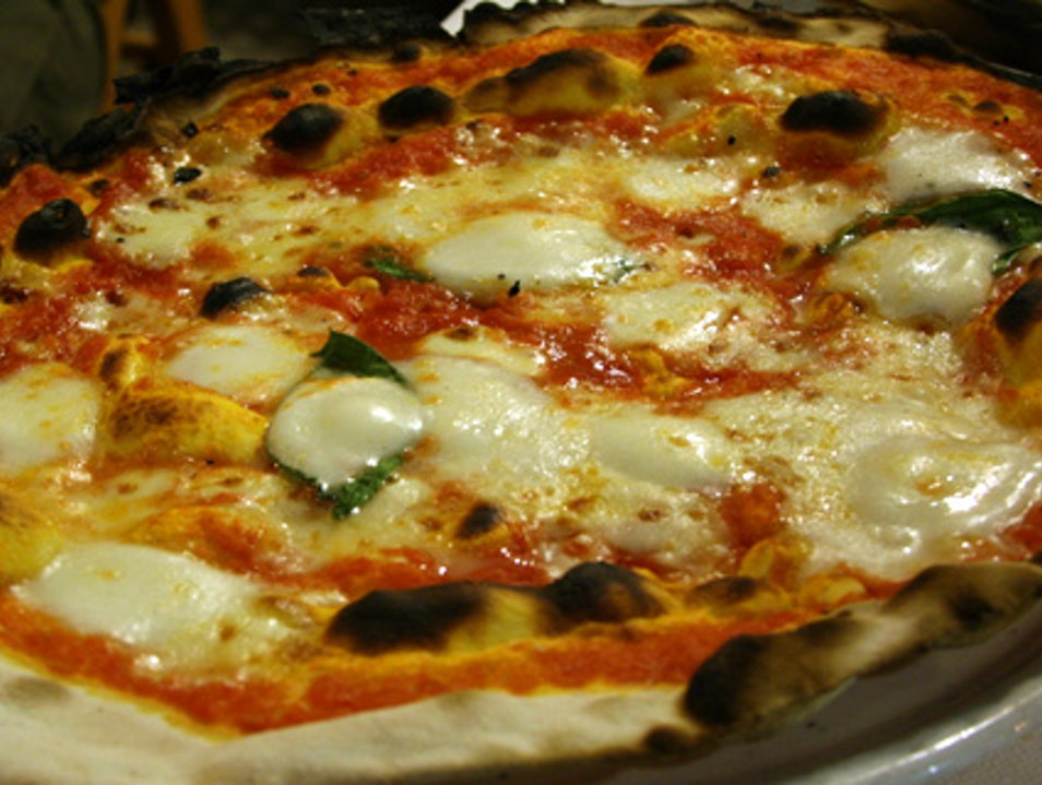 Roman Pizza with a Side of Kitsch Rome  Italy