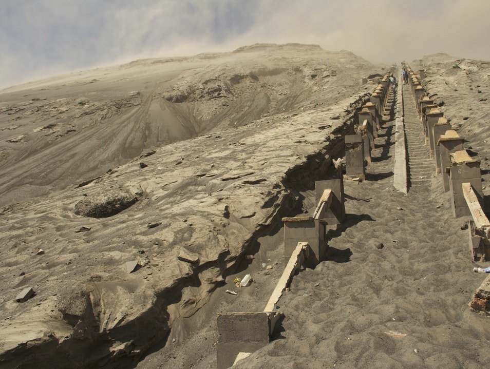 The Ascent Of Mount Bromo