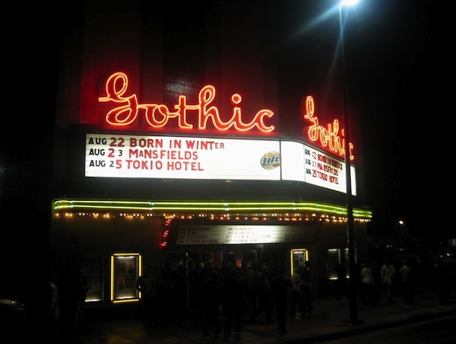 Still Rockin' at the Ageless Art Deco Gothic Theatre in Denver
